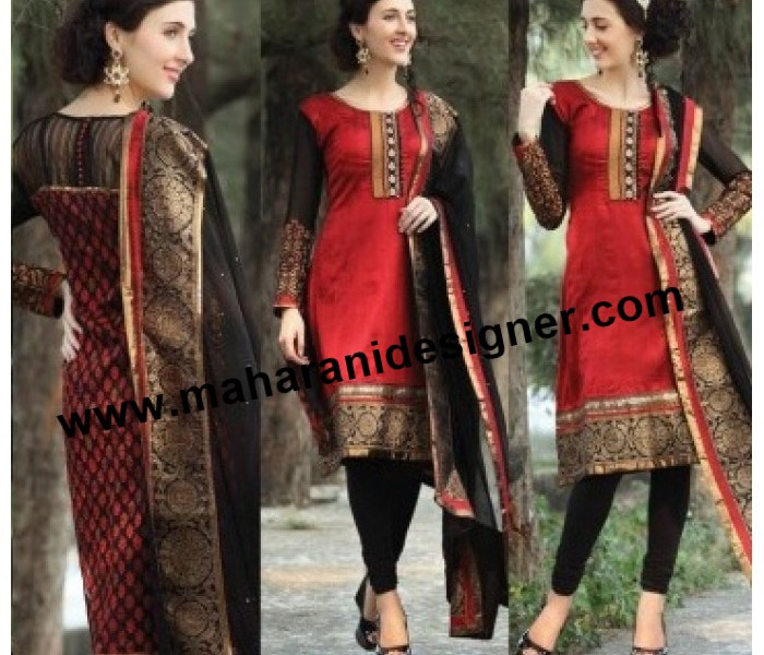 Buy Designer Pajami Suit India