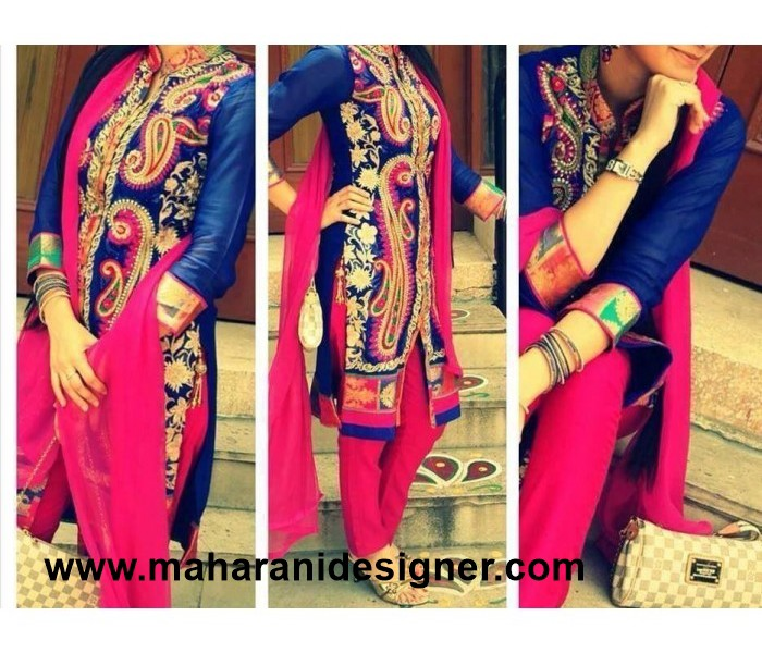 Designer Pajami Suit India