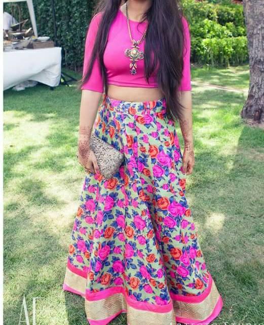 lahanga Fabric -Printed Rs.3200