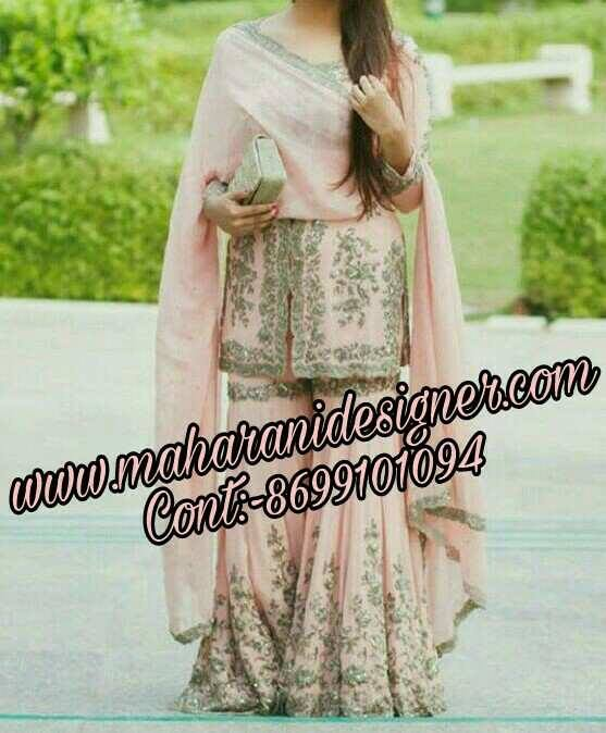 MDB - 1147 ( Designer bridal Sharara suit )