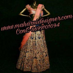 MDB - 0013 ( Designer Lehenga For Bride )