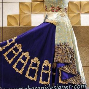 MDB - 7203 ( Designer lehenga for bride )