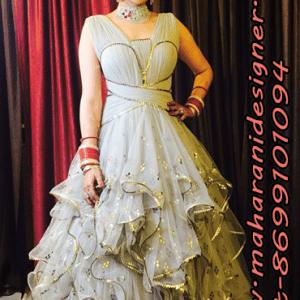 MDB - 9742 ( Designer gowns for baby girl )