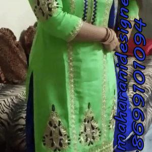 MDB - 2296 ( Designer Salwar Suit )