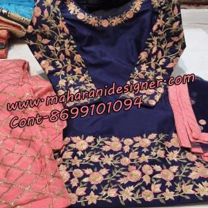 MDB - 0987 ( Designer Salwar suit )