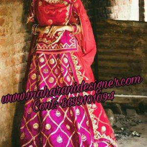 designer-boutique-in-chandigarh, Bridal Lehenga