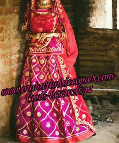 designer-boutique-in-chandigarh, Bridal Lehenga