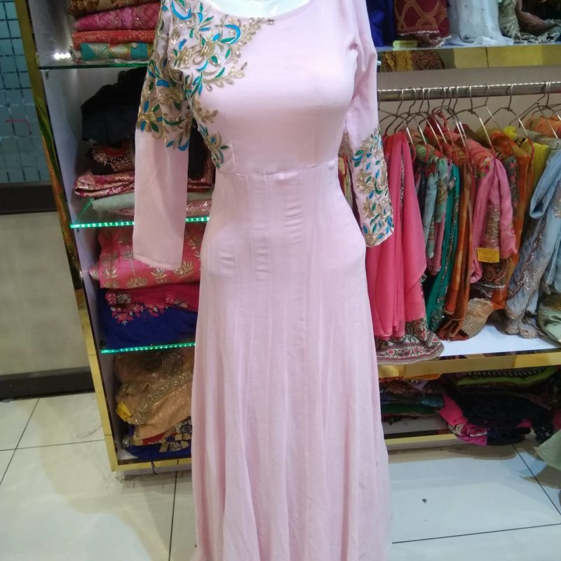 Long Designer Gowns in india, boutique dresses