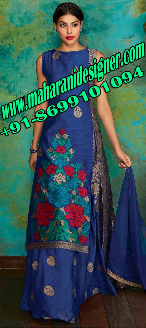 designer boutiques in bathinda, plazo suits party wear