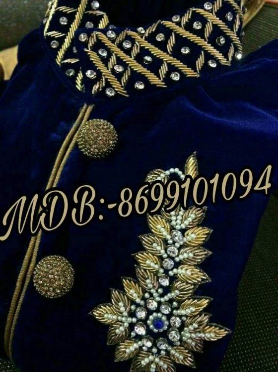 designer boutique in ludhiana, Machine work or Hand work Designs