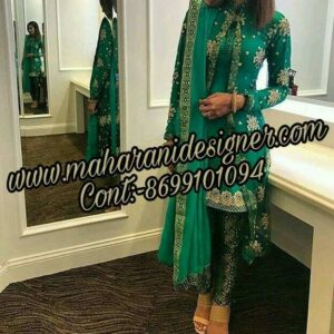 top boutiques in amritsar , designer pajami suits