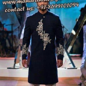 famous boutique in jalandhar , sherwani design
