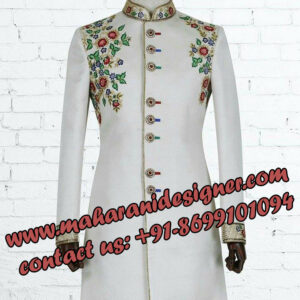 famous boutiques in bougivals, Sherwani