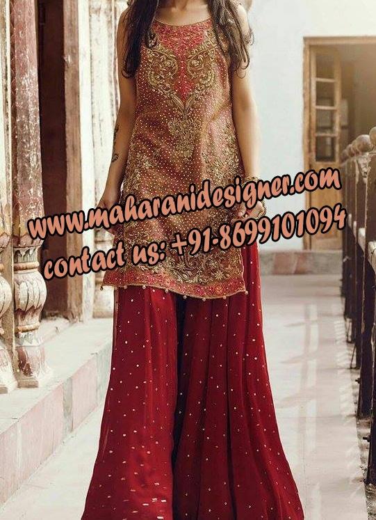 Best designer boutique in faridabad sharara maharani for Best designer boutique