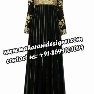 black gown , famous designer boutique in samrala