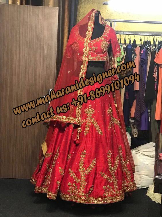 best boutique in jamshedpur , bridal lehengas