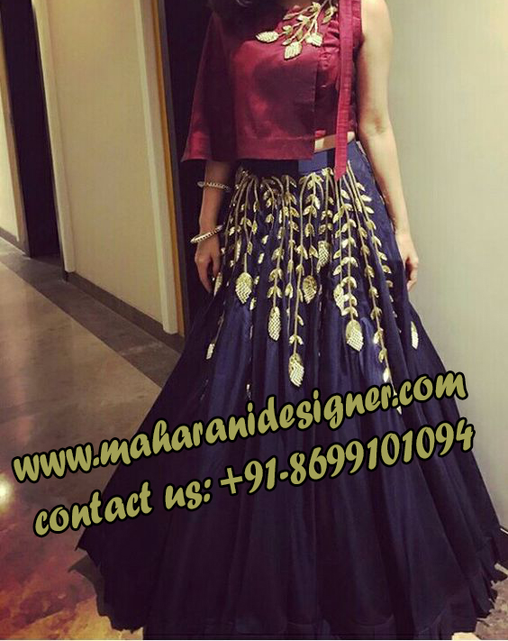 best boutiques in patiala , reception gown