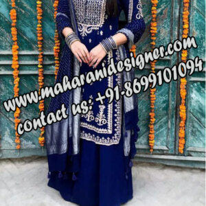 famous designer boutique in batala , designer sharara suits