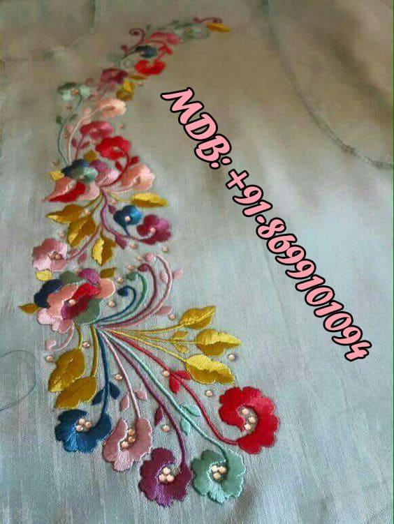 Best Boutiques In Gurdaspur Thread Work Punjabi Suits