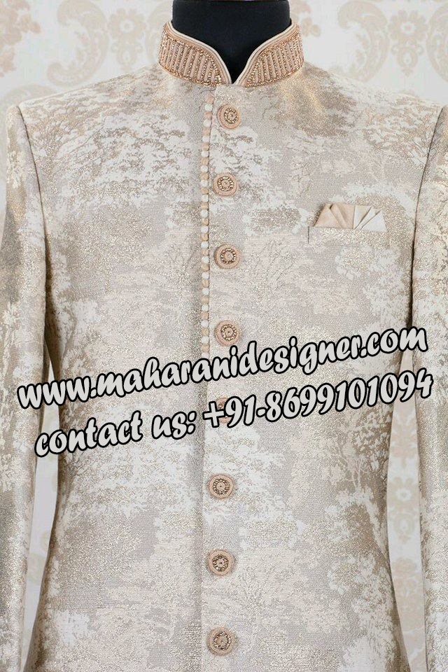 best punjabi suit boutique in punjab ,INDO WESTERN SHERWANI