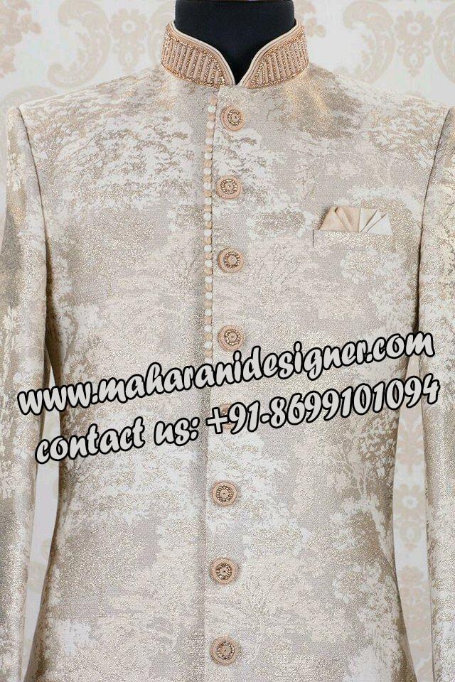 best punjabi suit boutique in punjab ,INDO WESTERN SHERWANI