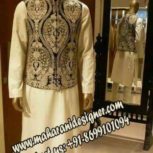 boutique designs of punjabi suits , DESIGNER SHERWANI + JACKET
