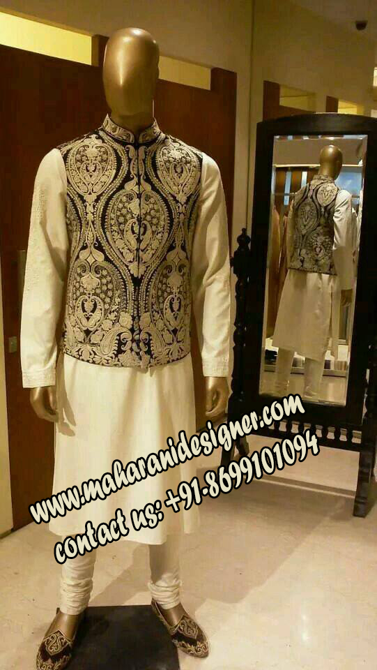 boutique designs of punjabi suits , DESIGNER SHERWANI + JACKET