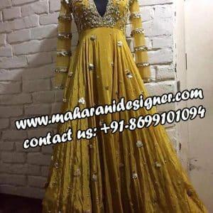 anarkali dress , punjabi designer boutique in chd