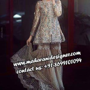 top designer boutiques in punjab , Sharara Suit
