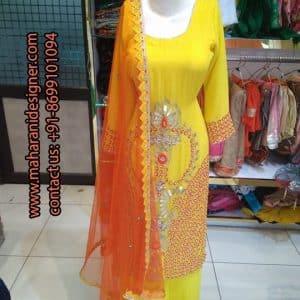 Top 15 Boutiques In Delhi , Designer Plazzo Suit