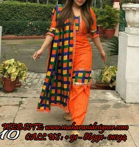 Designer Suits - Buy Salwar Suits Design , Salwar Kameez Online , Designer phulkari boutique