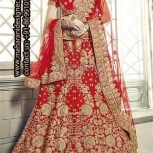 Designer Red Bridal Lehenga , Boutique At Bathinda