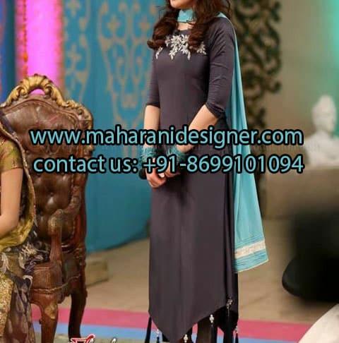 Maharani Designers , Designer Pajami Suit , Online Boutique in Jalandhar