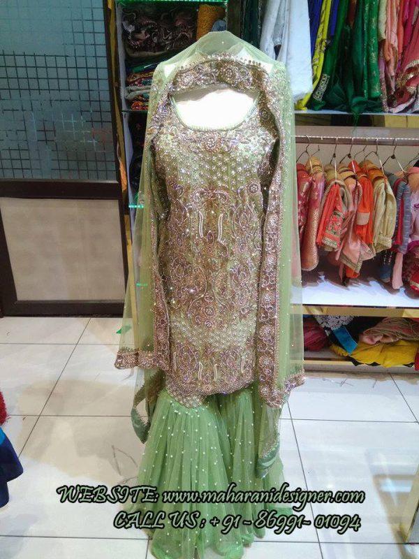 Sharara Suits Online , Best Designer Boutique in Ludhiana
