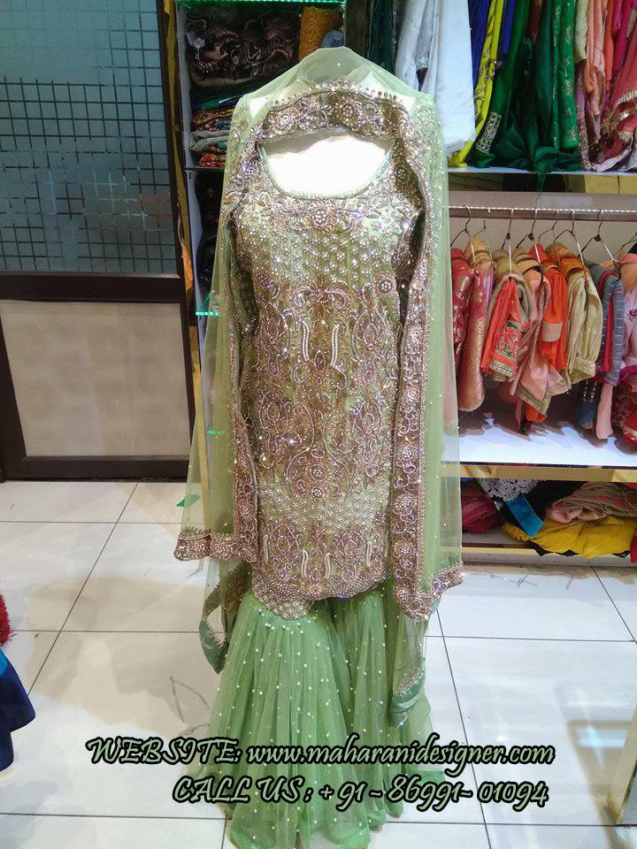 Sharara Suits Online , Best Designer Boutique in Ludhiana