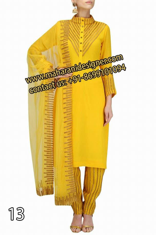 Designer Churidar Suits , Top 5 Boutiques In Ludhiana