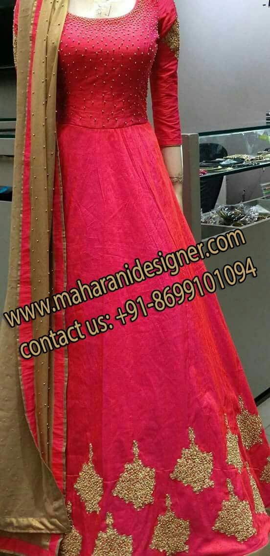 Designer Anarkali Suit , Best Boutique in Jalandhar Punjab