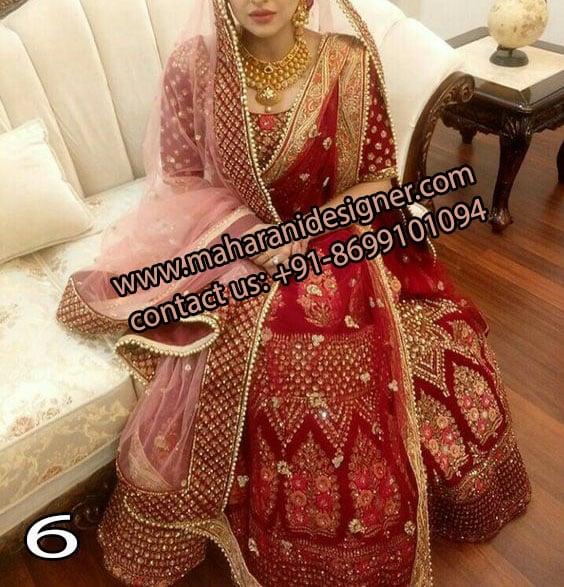 Boutique In Ludhiana Punjab India , Designer Bridal Lehenga