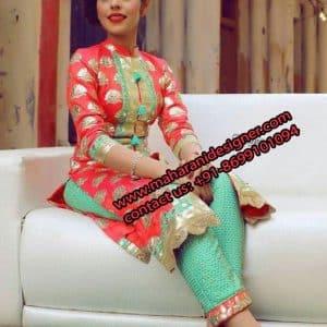 Churidar Designs Online , Top Boutiques near Mukerian, Hoshiarpur