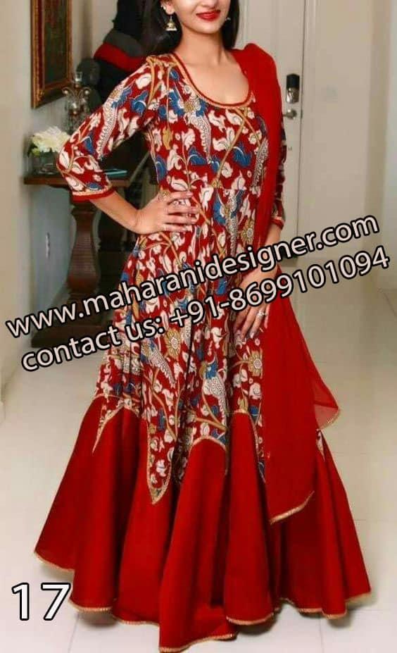 Good Boutiques In Amritsar , Designer Anarkali Suits