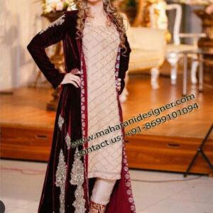 Designer Trouser Suit With Long Jaket , Ladies Designer Suits in Amritsar