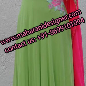 Top Best Boutiques In Amritsar , Designer Anarkali Suit