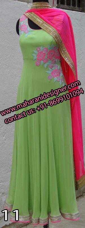Top Best Boutiques In Amritsar , Designer Anarkali Suit