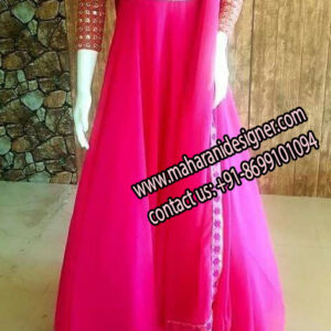 Long Pajami Suit , Online Designer Boutique in Jalandhar Punjab