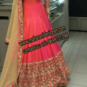 Designer Anarkali Suit , Online Boutique in Jalandhar Punjab
