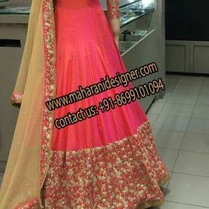 Designer Anarkali Suit , Online Boutique in Jalandhar Punjab