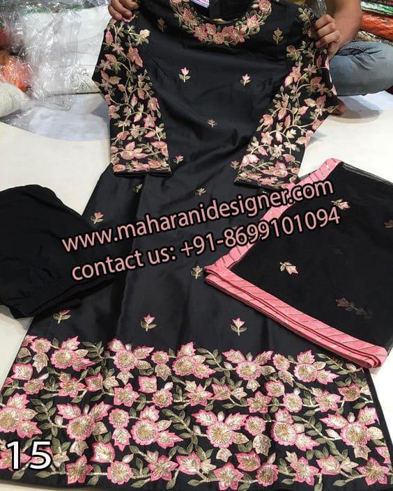 Designer Salwar Suit , List Of Boutiques In Amritsar