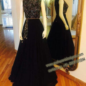 Online Reception Gown In Punjab , Reception Gown , Maharani Designers