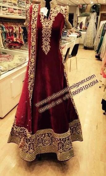 Designer Anarkali Suit, Best Boutiques In Gurdaspur On Facebook