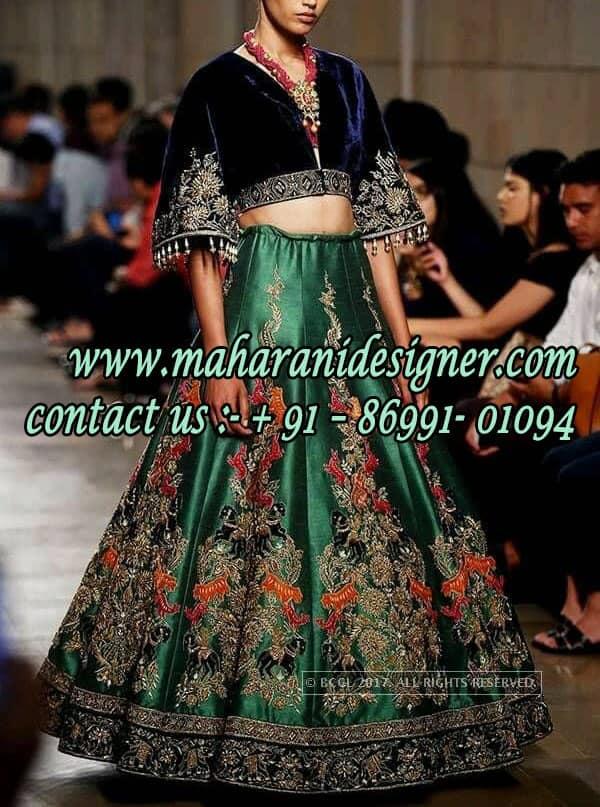 Designer Boutique in Jammu & Kashmir, Designer Boutiques in Jammu & Kashmir, Boutiques in Jammu & Kashmir, Boutique in Jammu & Kashmir, Maharani Designer Boutique, Designer Lehenga.
